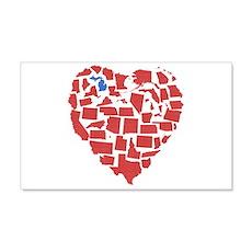 Michigan Heart Wall Decal