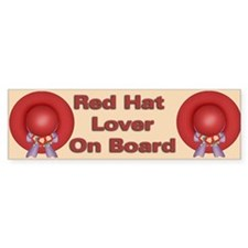 Red Hat Bumper Bumper Sticker