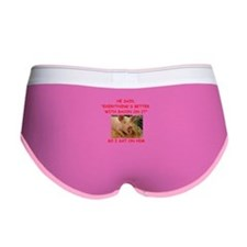 pig humor Women's Boy Brief