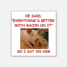 pig humor Sticker
