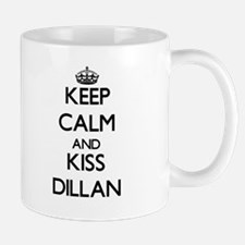 Keep Calm and Kiss Dillan Mugs
