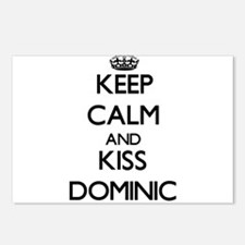 Keep Calm and Kiss Dominic Postcards (Package of 8