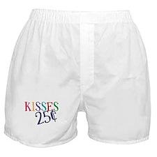 Kisses 25 Cents Boxer Shorts