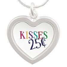 Kisses 25 Cents Necklaces