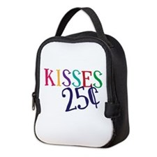 Kisses 25 Cents Neoprene Lunch Bag