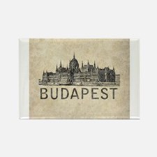 Vintage Budapest Magnets