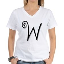Whimsical 'W' Shirt