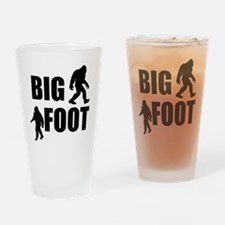 Bigfoot Drinking Glass