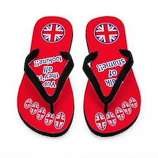 Walk Of Shame! (red) Flip Flops