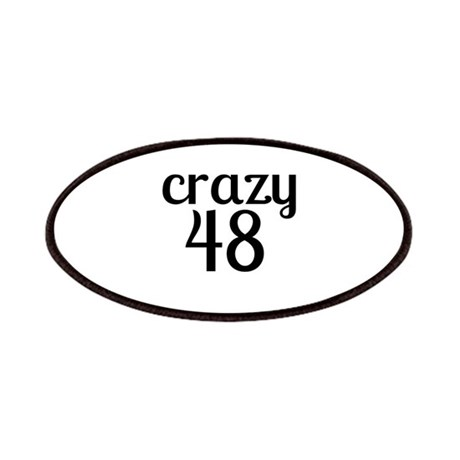 Crazy 48 Birthday Designs Patch