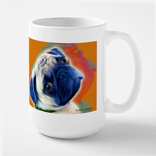 Pug Large Mug