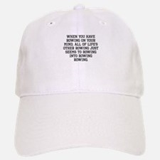 When You Have Rowing On Your Mind Baseball Baseball Baseball Cap