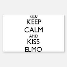 Keep Calm and Kiss Elmo Decal