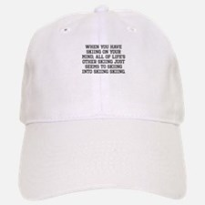 When You Have Skiing On Your Mind Baseball Baseball Baseball Cap