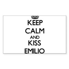 Keep Calm and Kiss Emilio Decal