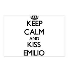 Keep Calm and Kiss Emilio Postcards (Package of 8)