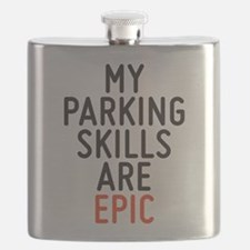 My parking skills are epic Flask