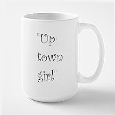 Up town girl Mugs
