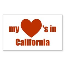 California Rectangle Decal