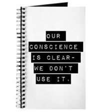 Our Conscience Is Clear Journal