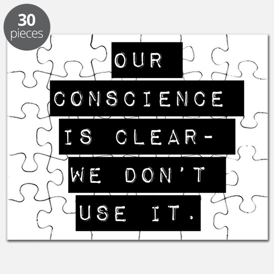 Our Conscience Is Clear Puzzle