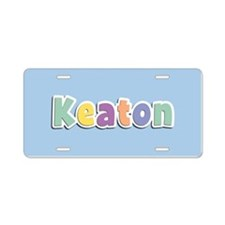 Keaton Spring14 Aluminum License Plate