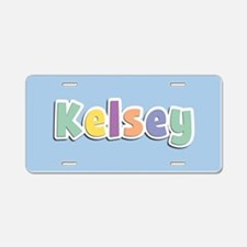 Kelsey Spring14 Aluminum License Plate