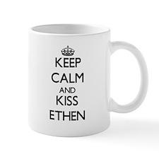 Keep Calm and Kiss Ethen Mugs