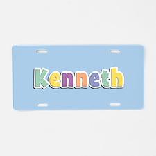 Kenneth Spring14 Aluminum License Plate