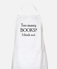 too many books Apron