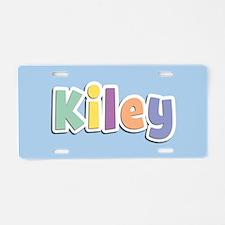 Kiley Spring14 Aluminum License Plate