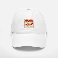 I Love Ducklings! Baseball Baseball Cap