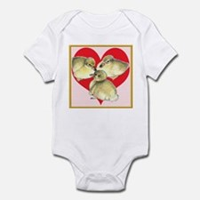 I Love Ducklings! Infant Bodysuit