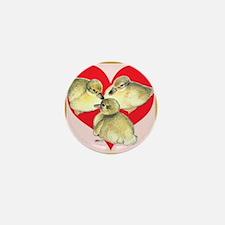 I Love Ducklings! Mini Button