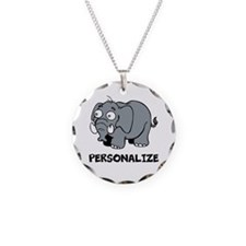 Elephant cartoon | Personalized Necklace