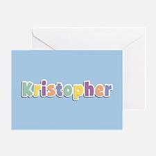 Kristopher Spring14 Greeting Card