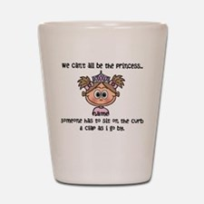 Princess (light brown) - Customize! Shot Glass