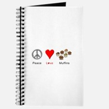 Peace Love Muffins Journal