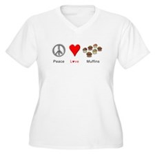 Peace Love Muffin T-Shirt