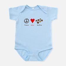 Peace Love Muffins Infant Bodysuit