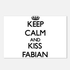 Keep Calm and Kiss Fabian Postcards (Package of 8)