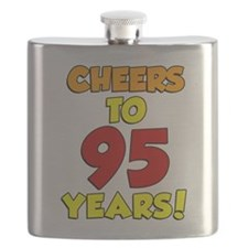 Cheers To 95 Years Flask
