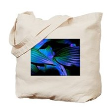Colorful Hosta Leaves Tote Bag