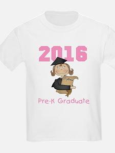 2016 Girl Pre-K Grad T-Shirt