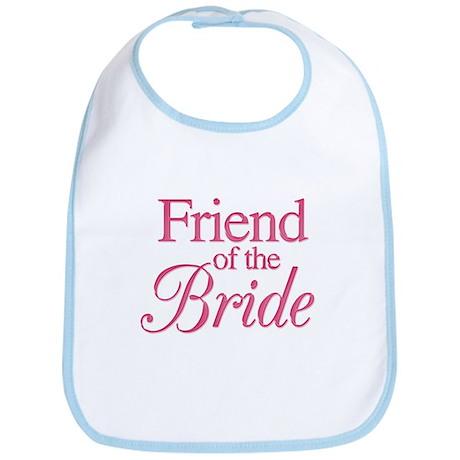 Friend of the Bride (rose) Bib