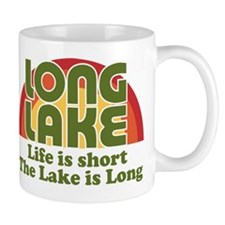 Long Lake: Life is Short Mugs