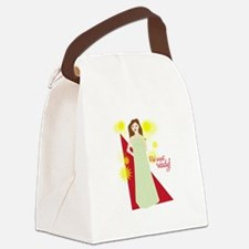 Red Carpet Ready! Canvas Lunch Bag