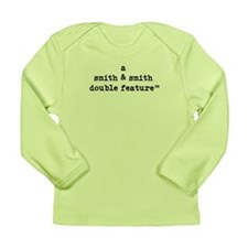Custom DOUBLE FEATURE Infant Long Sleeve T-Shirt