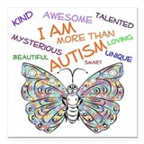 Autism support Square Car Magnets