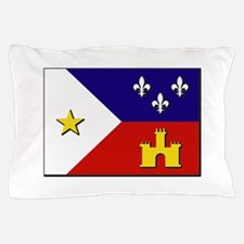 Flag of Acadiana Pillow Case